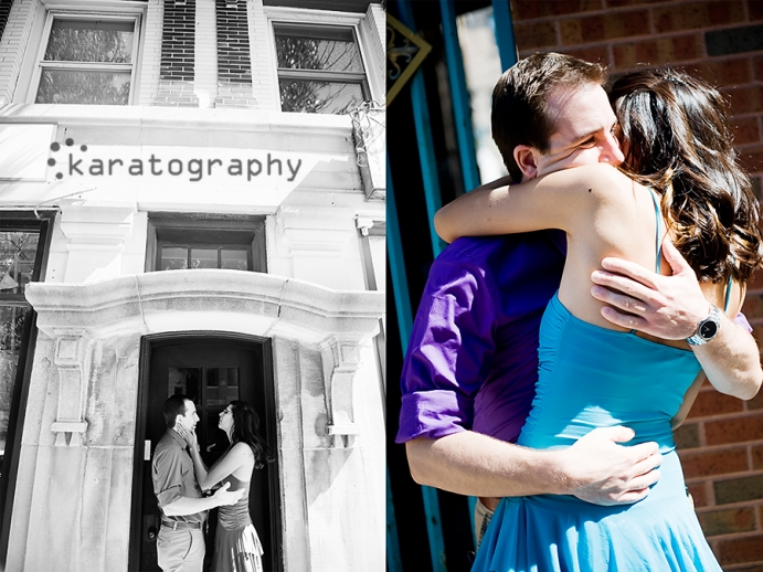 wrigleyville engagement photos