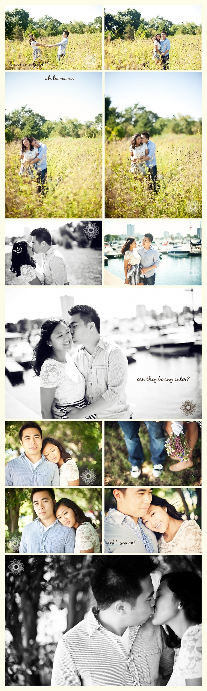 montrose harbor engagement chicago